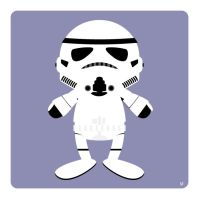 stormtrooper by striffle