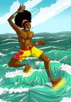 Extreme wave skimming by iisjah