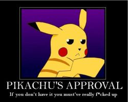 Pikachu's Approval by Retro-Eternity