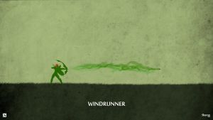 Dota 2 - Windrunner Wallpaper by sheron1030