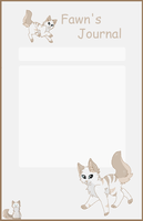 Fawn Journal skin by TimidFawn