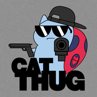 Cat Thug by Games4me