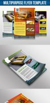 Multipurpose Flyer Template by snkdesigns