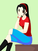 12-years-old Angela by gaby264