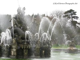 Perseus and Andromeda fountain by KarlsSkies