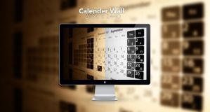 Calender Wall by Del-Korey