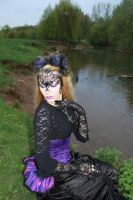 Gothic venetian mask Stock by MadaleySelket