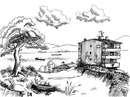 Landscape sketch2 by S-Altan