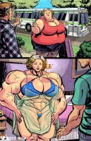 Weightlifting Equals Weight Loss by muscle-fan-comics