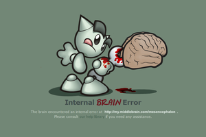 Internal brain error by paintevil