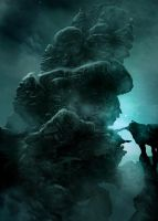Mountains of madness: Tower by MarcSimonetti