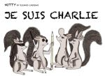 Nutty - Je Suis Charlie by RCWikkydArtist