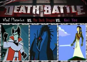 Death Match, Vladdie vs. The Dark Drag vs. The Tra by srebak