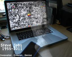 Steve Jobs Tribute by crazyal154