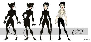 Catwoman: The Animated Series Selina Kyle by rickytherockstar