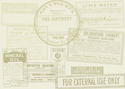 Antique Labels I by brainwreck