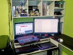 My desk by Opheroth