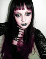 Dark Makeup Video Tutorial by cherrybomb81 by cherrybomb-81