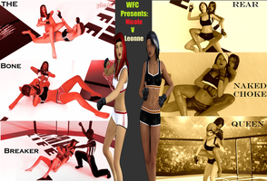 WFC(Women's Fighting Championship) Nicole v Leonne by PopChuckle47