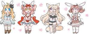 kemonomimi derp adopt set closed by carcarchu