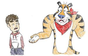 Tigers Don't eat Frosties by bienmexicano