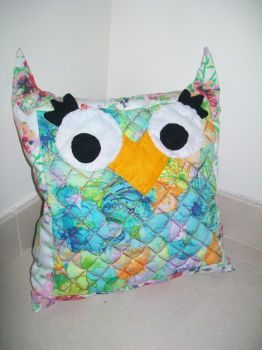Owl Pillow by twinkerbell2791
