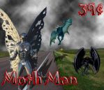 Moth Man Stamp by The-Beckster