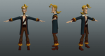 Guybrush Threepwood-WIP by futhermucker