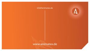 Animatex business cards by mikekaestner