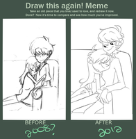 Draw this Again Meme by kiki-kit