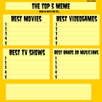 Top 5 Meme - Blank by suiteferb