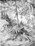 Beautiful-British-Columbia (drawing) by kolobok1969