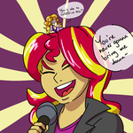 04-10-15 Sing It, Sunset by astarothathros