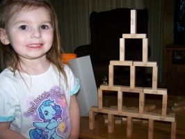 Eowyn and the Tower by Thora-T