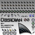 Obsidian Cursor by Sleeping-Dragon