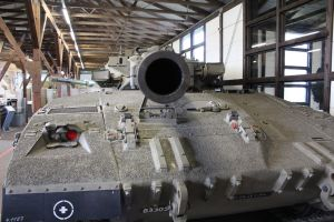 The mouth of a Merkava MK.I by Liam2010