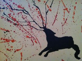 Abstract wolf series 2 by LaylaStormBeauty