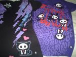 My Skelanimals Shirts by SoraSheimi