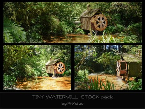Tiny Watermill Pack by PikKatze