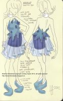 Nidorina: Pokedress 030 by 29CentPens