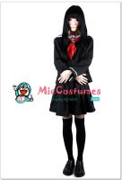 Hell Girl Ai Enma Cosplay Costume by miccostumes