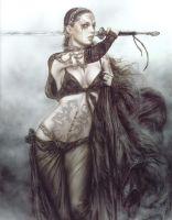Luis Royo in Warrior7 by magsou