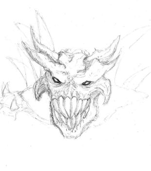 Demon Head by Thrareck