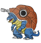 Blastoise: now if full color by Palinor