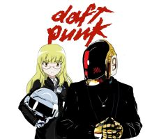 Daft Punk by Ozoneknight