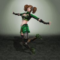 Dynasty Warriors 7 Bao Sanniang by ArmachamCorp
