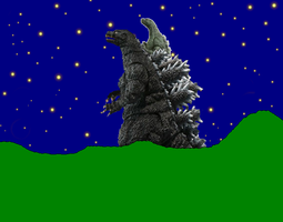Godzilla and Jr The Great Kings of the Past by MrJLM18