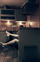 Laura in the oven by Royalshake