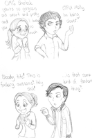 In which the actors are NOT their characters by frecleface