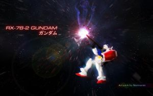 RX-78-2 In Action by Fishion